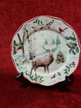 Better Homes & Gardens WINTER FOREST Set of 2 Dinners Plate Heritage Col... - $32.66