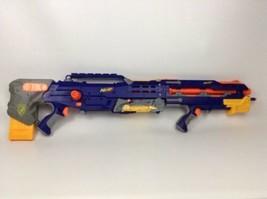 Nerf Gun Longshot CS6 NStrike Sniper Rifle Gun with 7 Darts Blue Version 2006 - $72.12