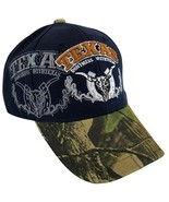 Don't Mess with Texas Men's Camouflage Adjustable Baseball Cap (Blue) - $11.95