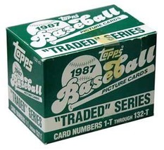 1987 Topps Traded Baseball Factory Set - $24.99