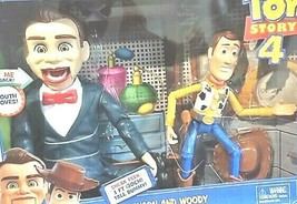 DISNEY PIXAR Woody and Benson Action Figure (Toy Story) Childrens 2-Pack - $33.65