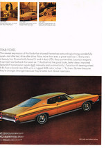 Vintage 1968 Magazine Ad Ford Showed Astoundingly Strong & Quiet Test After Test - $5.93