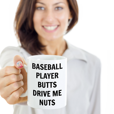 Funny Prank Birthday Gift For Baseball Lover Mom Wife Girlfriend Women Her Mug