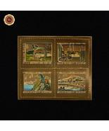 WR Japan Gold Foil Stamp Replica Set International Letter Writing Week 1... - ₹526.97 INR