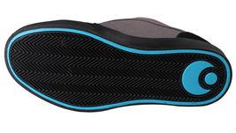 Osiris Black/Cyan Men's Decay Skateboarding Shoes image 7