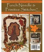 Fall 2016 Punch Needle & Primitive Stitcher Magazine  - $9.00