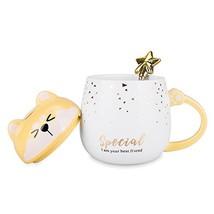 Dog Mom Mugs – I am Your Best Friend, Funny Ceramic Dog Mug with Lid and... - $17.84