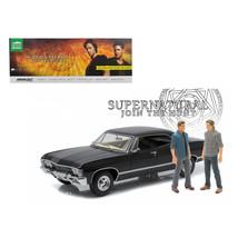 1967 Chevrolet Impala Sport Sedan with Sam and Dean Figures Supernatural... - $118.91
