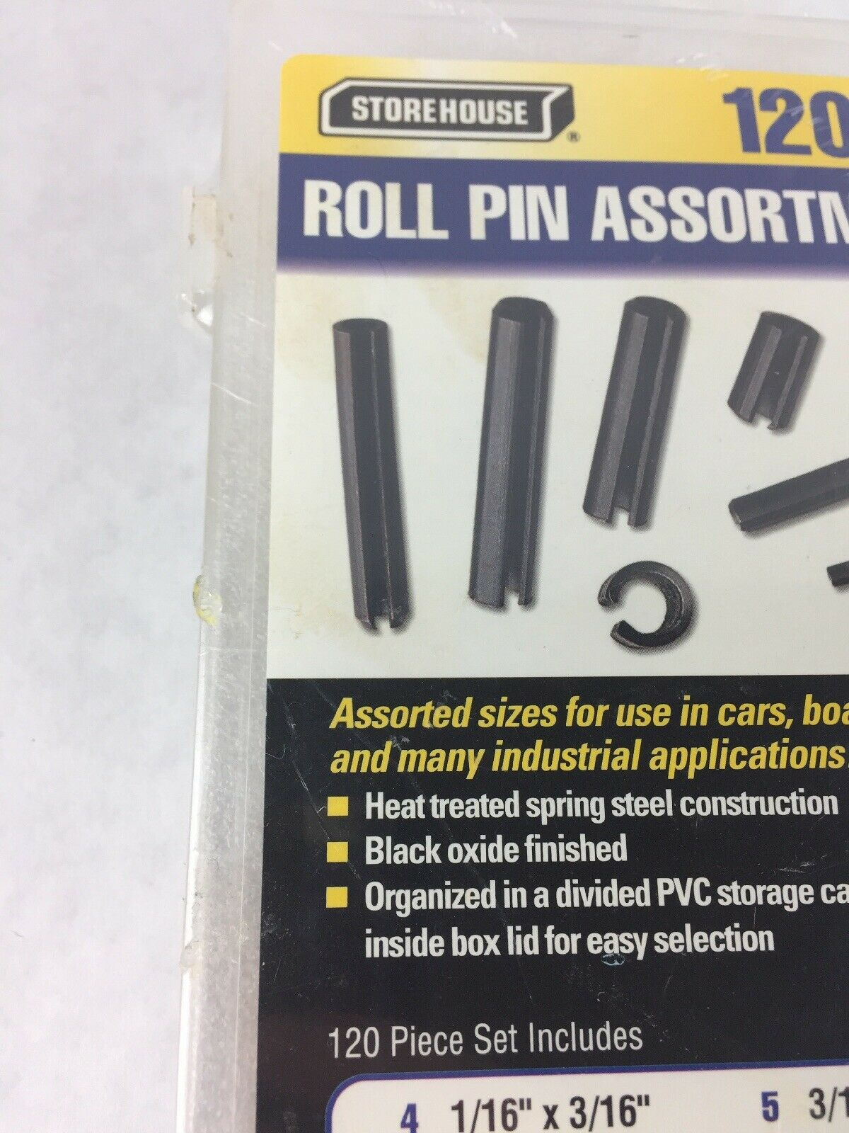 Storehouse 120 pc Roll Pin Assortment Item and 50 similar items
