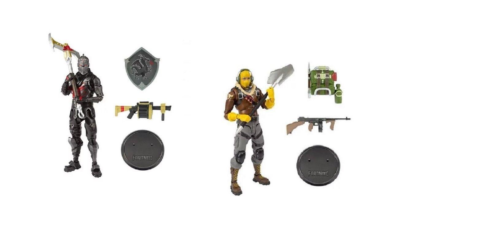 "McFarlane Toys Fortnite Black Knight & Raptor 7"" Action Figure Set"