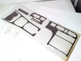 6-pcs Dash Console Trim Kit Rose Wood Grain Interior Accent For 1995 Mazda 626 - $93.49