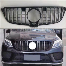 For Mercedes Benz GLE C292 Front GT R Grill Sports Coupe Grille 2015-201... - $162.14