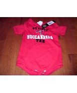 Tampa Bay Buccaneers 18M Baby Romper Toddler Creeper NFL Infant NEW NWT ... - $14.84