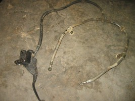 KAWASAKI 2000 300 LAKOTA 2X4 FRONT MASTER CYLINDER WITH HOSES   PART 23,736 - $45.00
