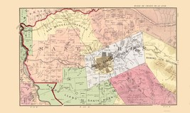 Sonoma Central County California - Thompson 1877 - 23.00 x 38.63 - $36.58+