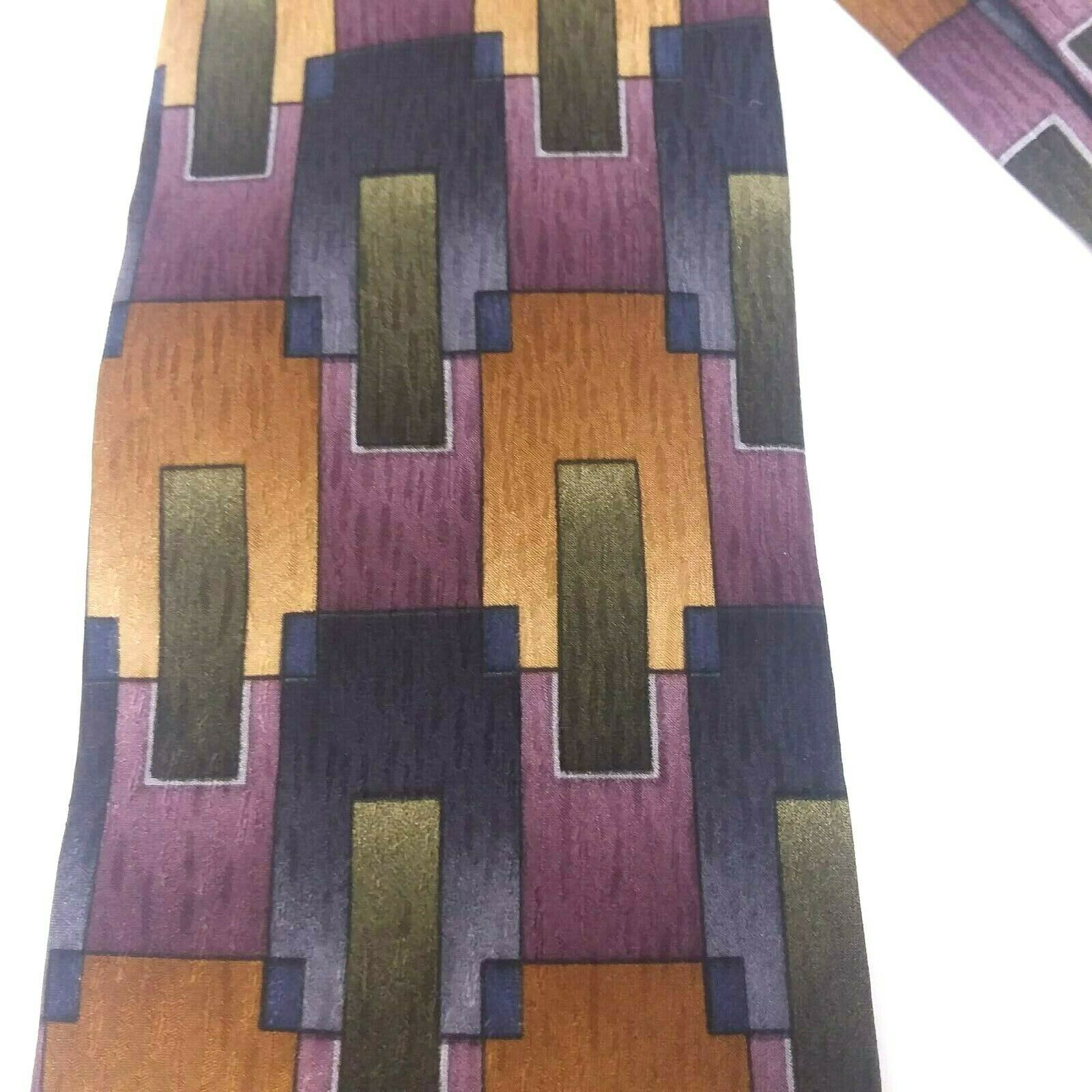 Primary image for Jimmy V Men's Neck Tie The V Foundation Collection Necktie Abstract Squares