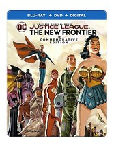 Justice League: New Frontier Commemorative Edition Steelbook (2017) [Blu-ray]
