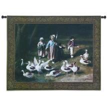 53x40 ABIGAIL'S WATCH Duck Fine Art Tapestry Wall Hanging  - $169.95