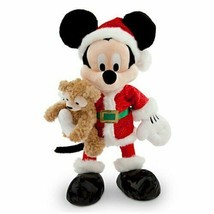 Disney Santa Mickey Mouse Plush with Duffy The Bear - 18'' - $152.41