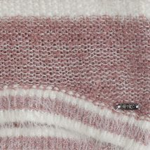 Mayoral Little Girls 2T-9 Colorblock Stripe Soft Fuzzy Knit Sweater Dress image 3