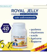 6 x Nubolic Royal Jelly Help Sleep Golden Age Poor Metabolism Cramps 40 ... - $170.43