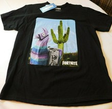 Fortnite Loot Lama Epic Games Black Short Sleeve T Shirt Men's L large N... - $24.05