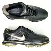 Nike Lunar Control Soft Spike Golf Shoes Mens Size 10.5 W Wide Cleats Bl... - $46.74