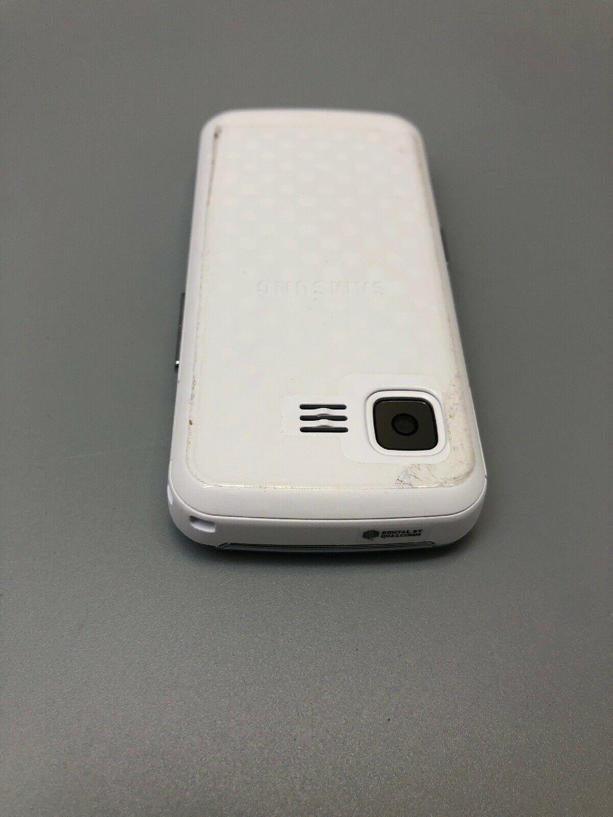 Samsung SPH M330 - White Silver (Sprint) Cellular Phone Slide