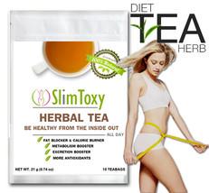 Diet Tea Weight loss Detox Clean Colon SlimToxy Natural Herbal Reduce Bl... - $12.86+