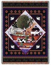 Noahs Ark Coco Throw - 70 x 53 Blanket/Throw - $48.95