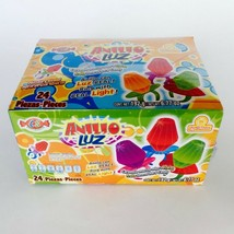 Ring Pop Candy~w/ Real Light~Solid Caramel~Fruit Flavor Ring ~24 pieces - $24.49