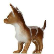Hagen Renaker Dog Chihuahua Small Brown and White Ceramic Figurine image 5
