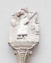 Collector Souvenir Spoon USA California San Francisco Fisherman's Wharf - $9.99