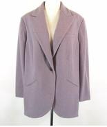 RALPH LAUREN Size 22W New NWT Wool Blazer Jacket Longer Length Soft Thick - $59.99