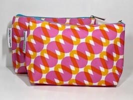 2pc Clinique Makeup Bag by Kapitza (Pink, Orange,White) - $4.98