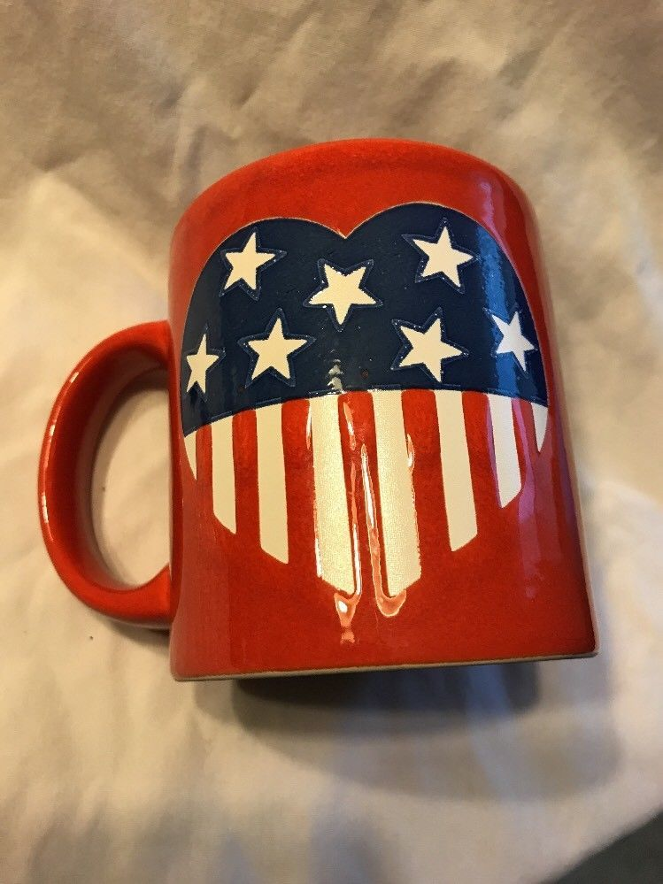 Heart of America Mug  Waechtersbach Germany New