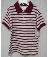 NCAA Oklahoma Sooners Red White Logo Red & White Striped Creeper Two Fee... - $22.95