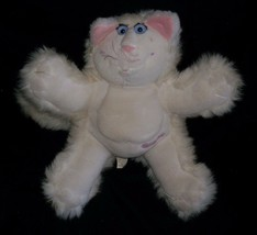 VINTAGE FISHER PRICE PURR-TENDERS 1987 KITTY CAT STUFFED ANIMAL PLUSH TO... - $15.99