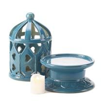 Led Candles Battery, Ceramic Lantern Flameless Decor Centerpiece Candle ... - $52.94 CAD
