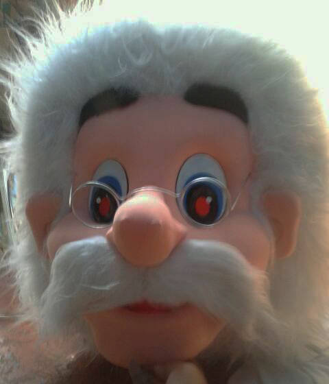 Geppetto Costume Head For Sale