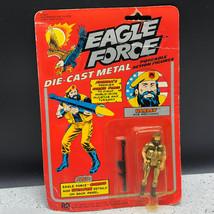 1981 MEGO EAGLE FORCE ACTION FIGURE MOC DIE CAST SOLDIER HARLEY ACE MECH... - $94.05