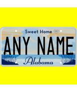 Ride-on battery power wheels car license plate - custom Alabama design - $8.99
