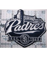 """San Diego Padres Embroidered PATCH~3 5/8"""" x 3 1/4""""~Iron Sew On~MLB~Ships... - $4.49"""