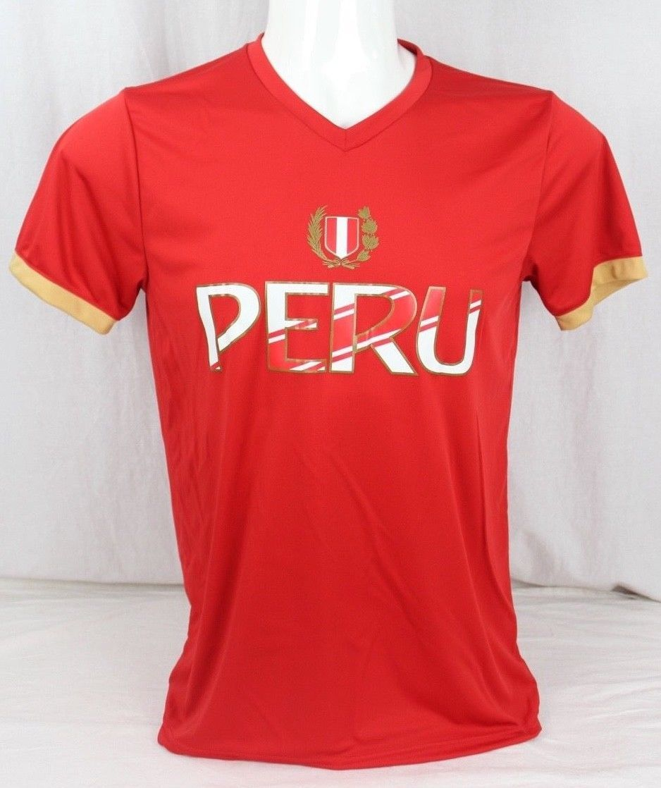 66eb11768 Peruvian soccer men s team world cup t shirt and 50 similar items