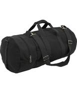"Black Canvas Double-Ender Sports Gym Duffle Bag 30"" x 13"" - $30.99"