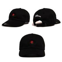 2019 1PCS Fashion Spring Summer Unisex Dad Hat beautiful Flower Rose Emb... - $11.00