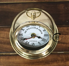 Beautiful Time Watch/Clock Bedroom/Bedside Clocks Victorian Scope Gimbals Decor. - $33.03