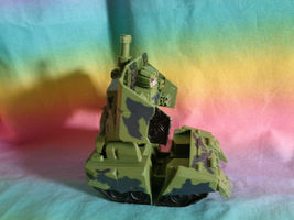 Transformers 2008 Hasbro Green Army Tank Replacement Parts - as is image 7