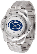 Penn State Nittany Lions Licensed Mens Sport Steel Band Watch - $66.02