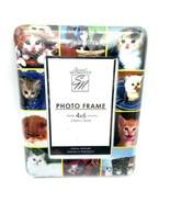 4×6 Cat Photo Frame Kitten Lover Picture Holder Desktop or Wall Mount - $15.90